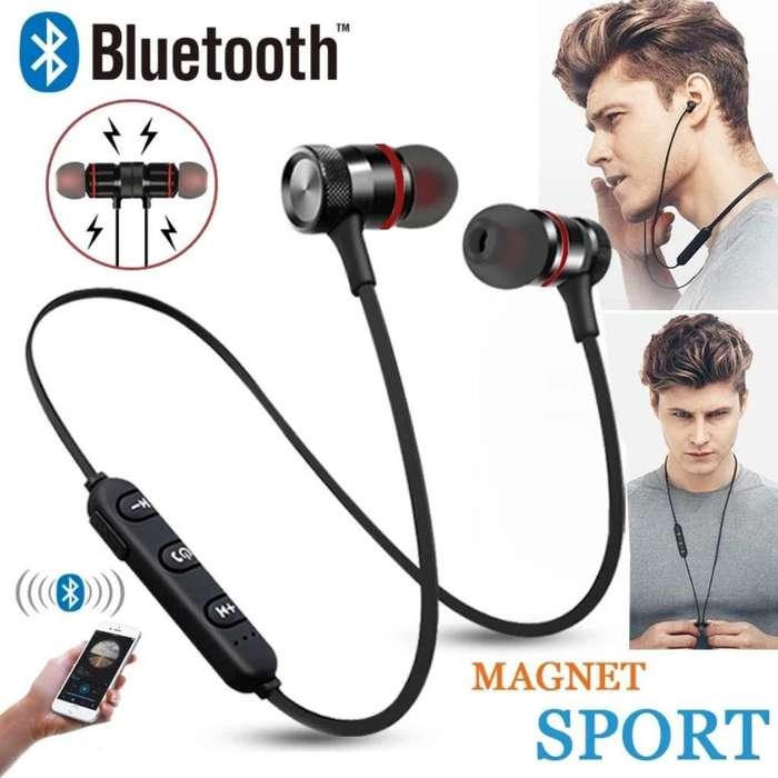 Audifonos Bluetooth Xtrabass Imantada