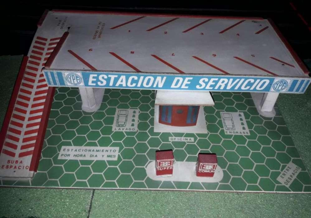 Estación Servicio de Madera