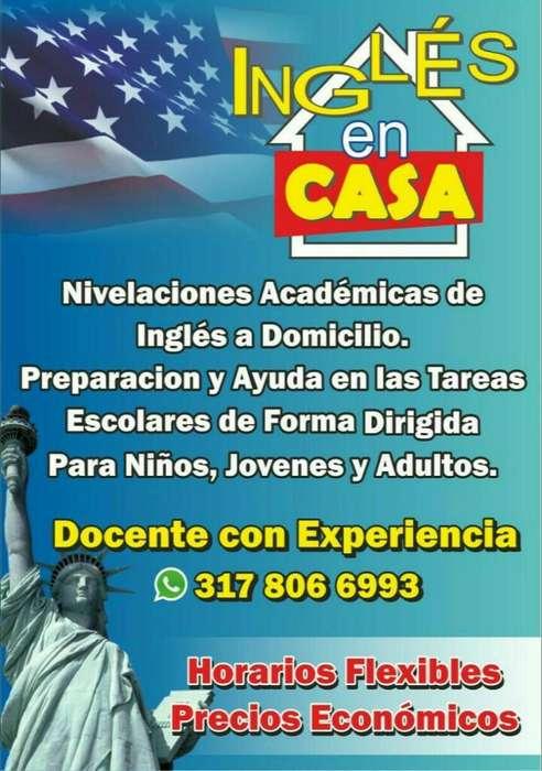 Profesor de Inglés Nivelaciones Académic