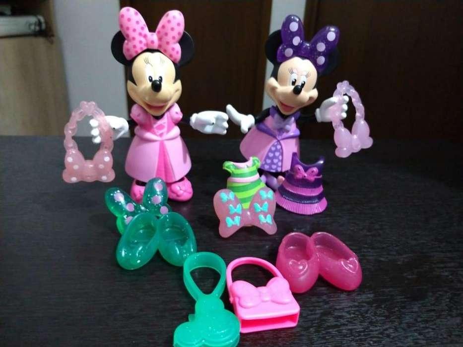 Minnie Mouse con cambio de ropa 30.000