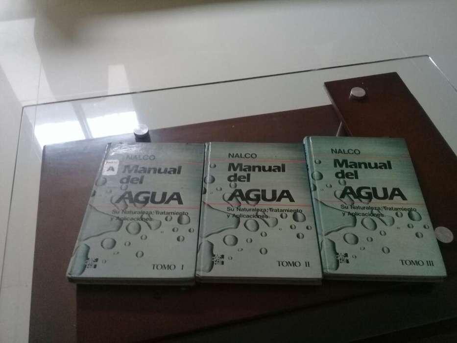 Manual Del Agua. Nalco. Libros