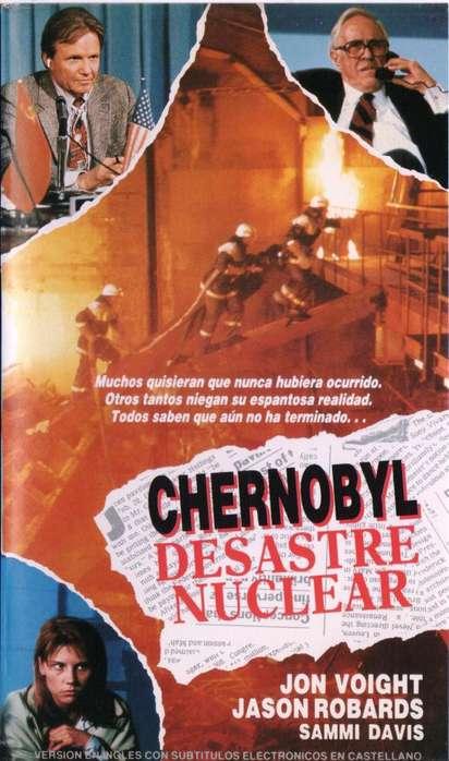 CHERNOBYL DESASTRE NUCLEAR PELICULA EN VHS AUDIOMAX