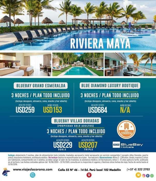 Viaje como un Rey a Rivera Maya con Viajes la Corona 110919