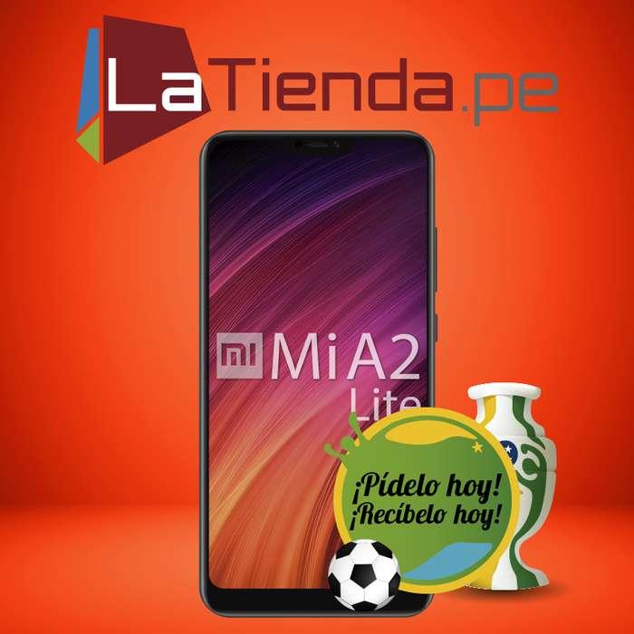 Xiaomi Mi A2 Lite camara dual principal 12 MP 5 MP