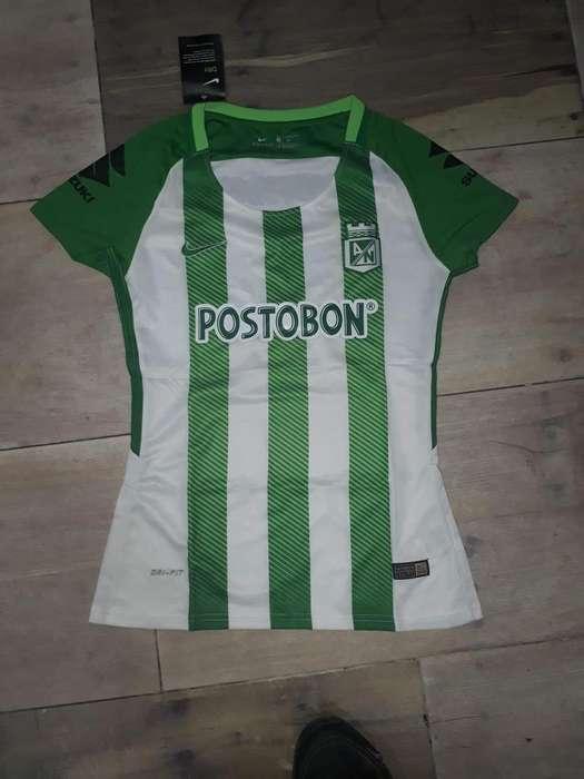 Camiseta Atl Nacional - Importada