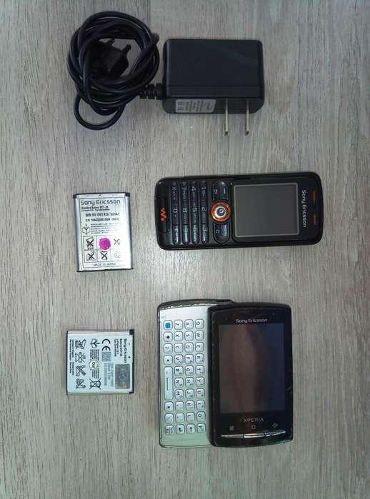 Sony XPERIA X10 MINI PRO Y ERICSSON W200 para repuestos.