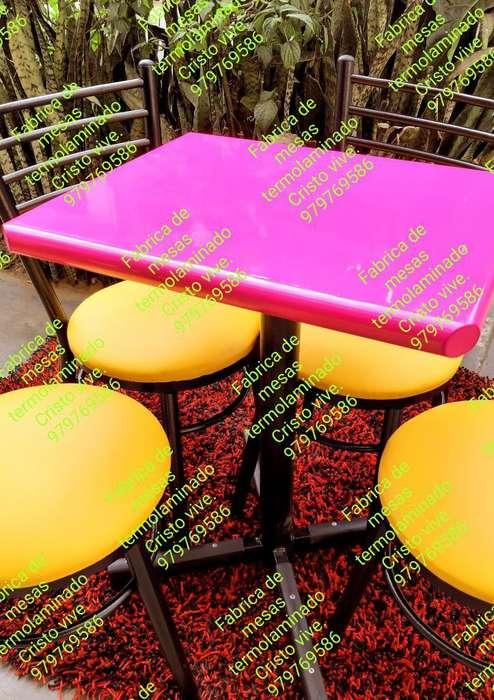 Mesas Brillantes Nuevas Termoselladas