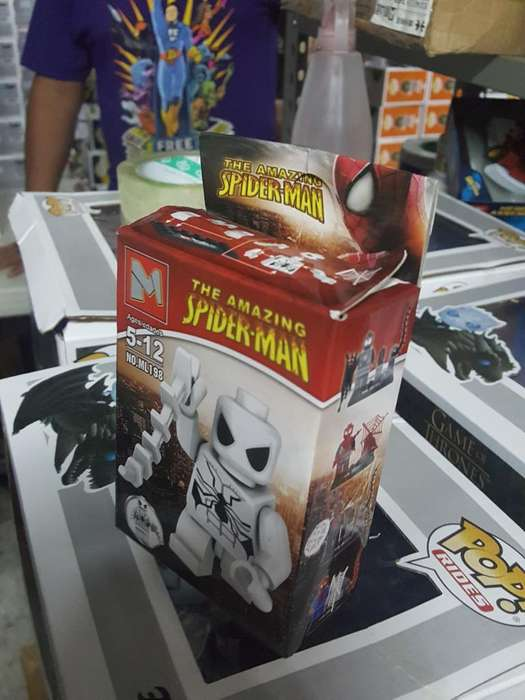 Figura Armable Spider Man