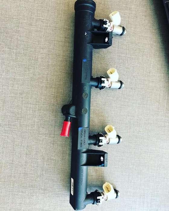 Rampa de inyectores Original Para Peugeot 207, 307, 206, 307, 308, C3, C4 motor 1.6.