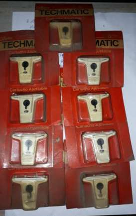 Lote de Techmatic Gillette
