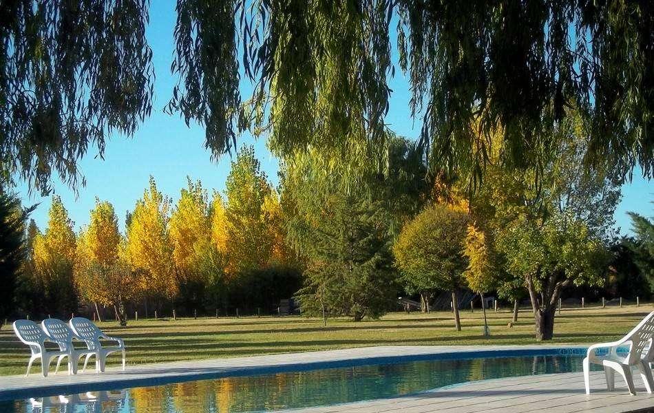 fa01 - Cabaña para 2 a 7 personas con pileta y cochera en San Rafael
