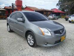 NISSAN SENTRA 2010 GRIS FULL ABS AIRBAG MT