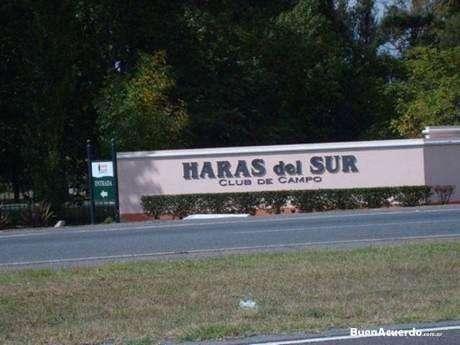 Lote en venta en Haras del Sur I