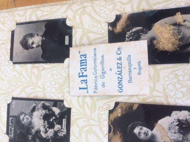 Antiguo Album con 234 Fotopostales Comienzos de S. XX