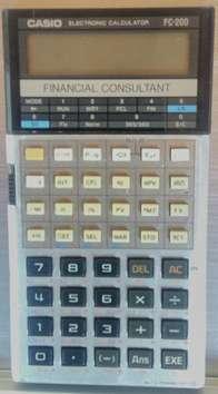 Calculadora Financiera Fc-200 Casio