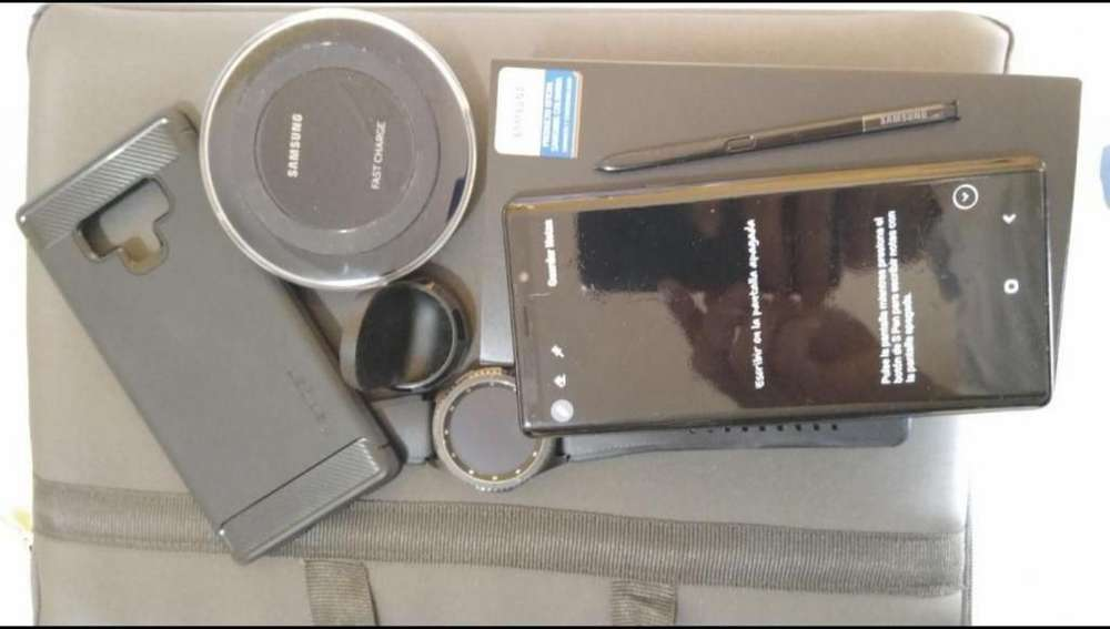 Vendo Note 9 Intacta 128 Gigas Color Neg