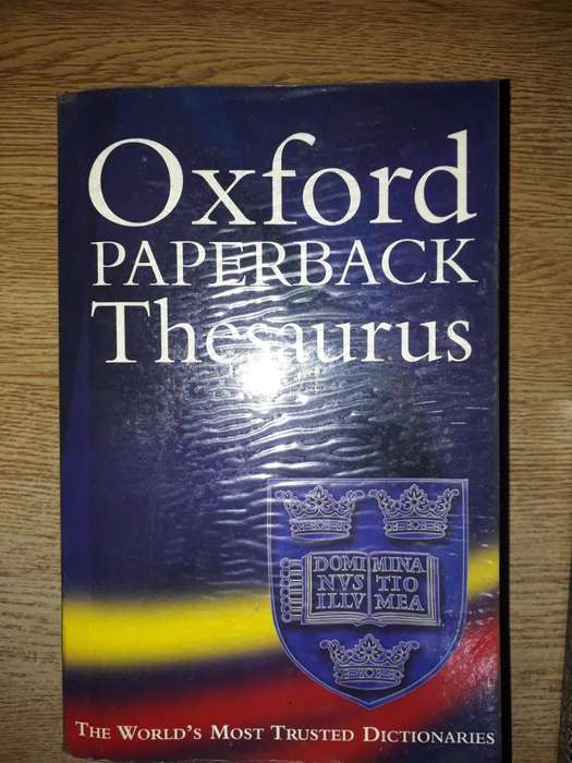 OXFORD PAPERBACK THESAURUS 2nd Edition