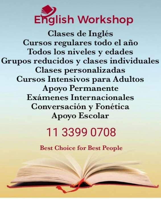 Inglés Intensivo. Certificate en Febrero