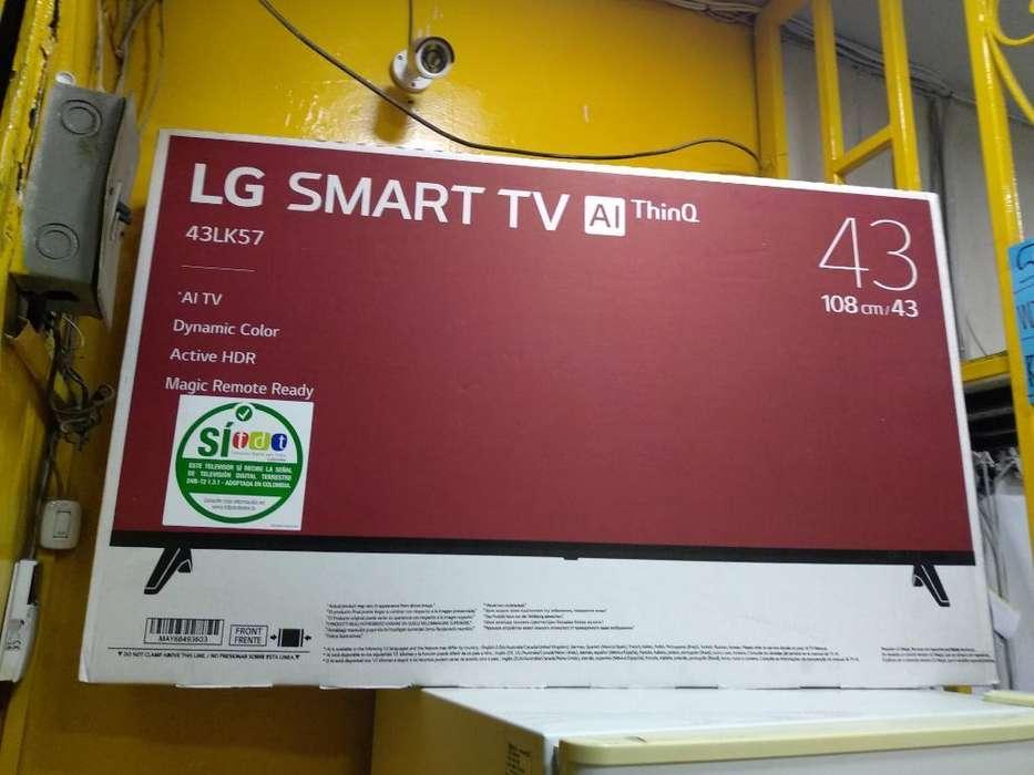 <strong>televisor</strong> Lg Smart Tv de 43 Pulgadas Nue
