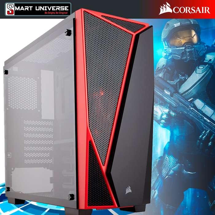 Case Gamer Corsair Spec-04 Semitorre Atx Tapa Traslucida Led