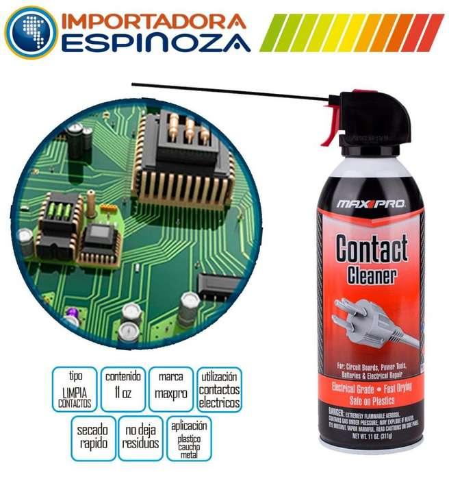 Limpia Contactos Maxpro Spray Multifuncional 311g 11oz Nuevo