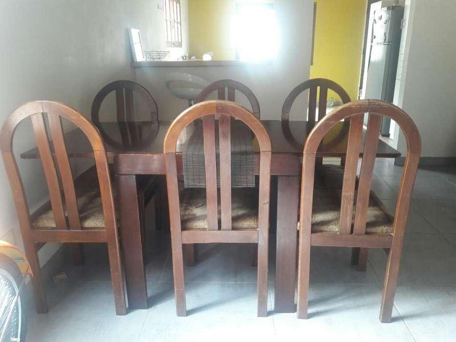Juego de Mesa Y 6 <strong>silla</strong>s Lindo Diseño