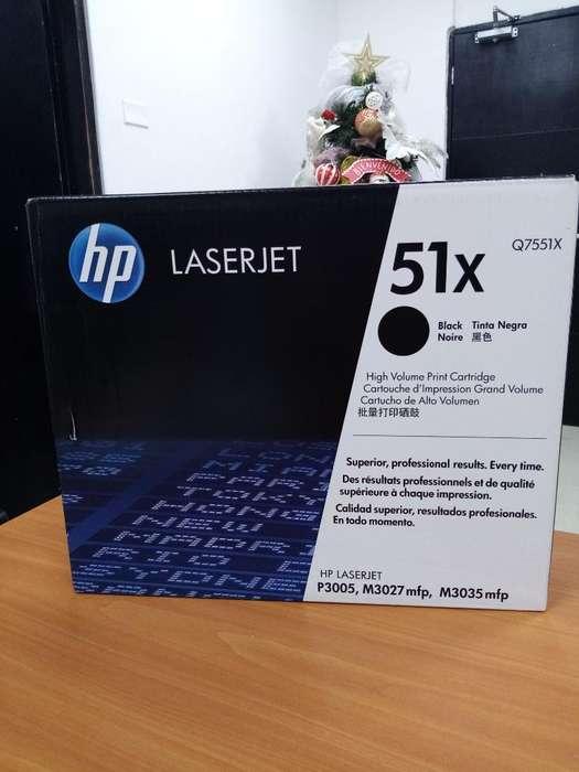 Tóner Hp Q7551x Lip3005/m3035