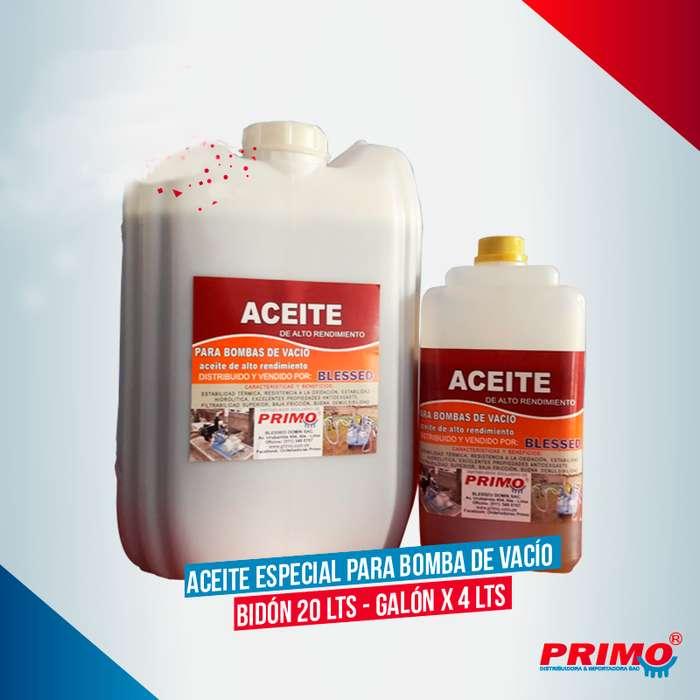 ACEITE PARA BOMBA DE VACIO 4LT 20LT Ideal para maquinas de ordeño