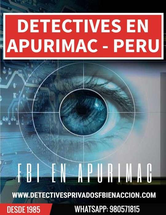 DETECTIVES PRIVADOS EN APURIMAC ABANCAY