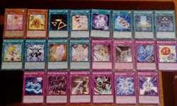 lotes de 50 cartas yugioh a 10 soles