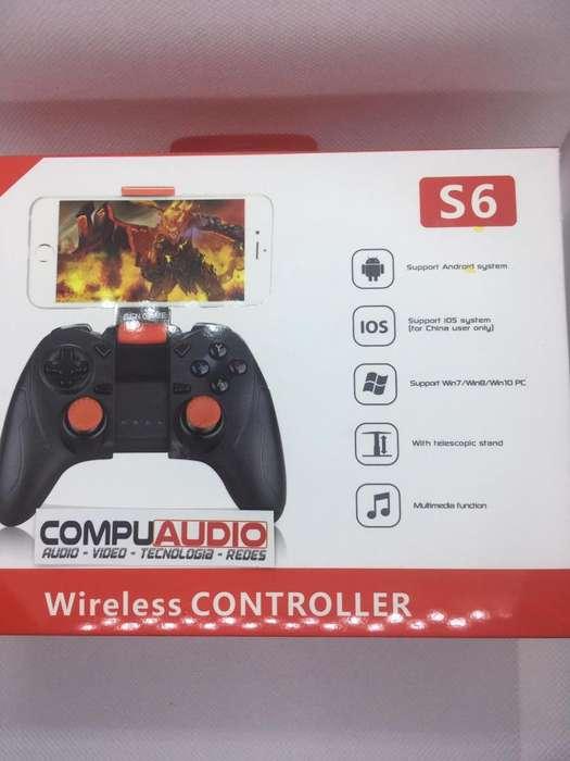 Control para juegos bluetooth para celular y tablet