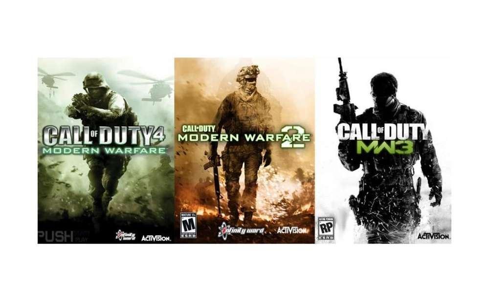 Juegos Xbox 360,xbox One 3x1 Call Of Duty Modern Warfare!!