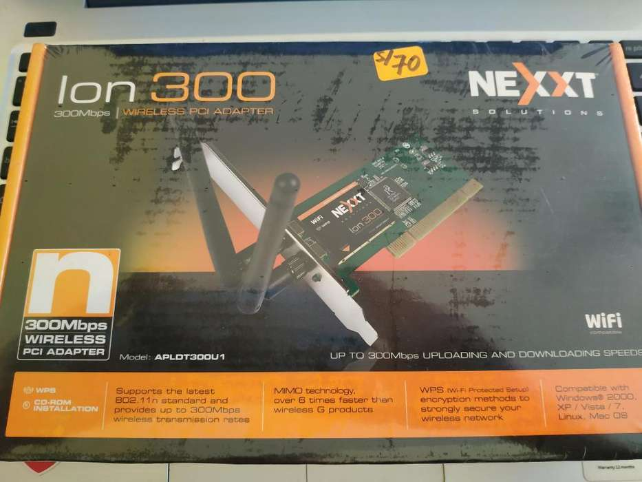 Tarjeta Pci Wifi Nexxt 300mbps