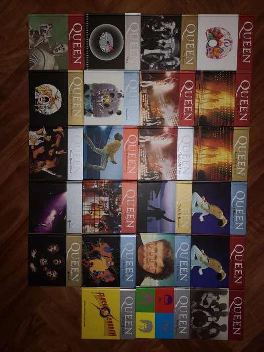 Colección de Discos de Queen.