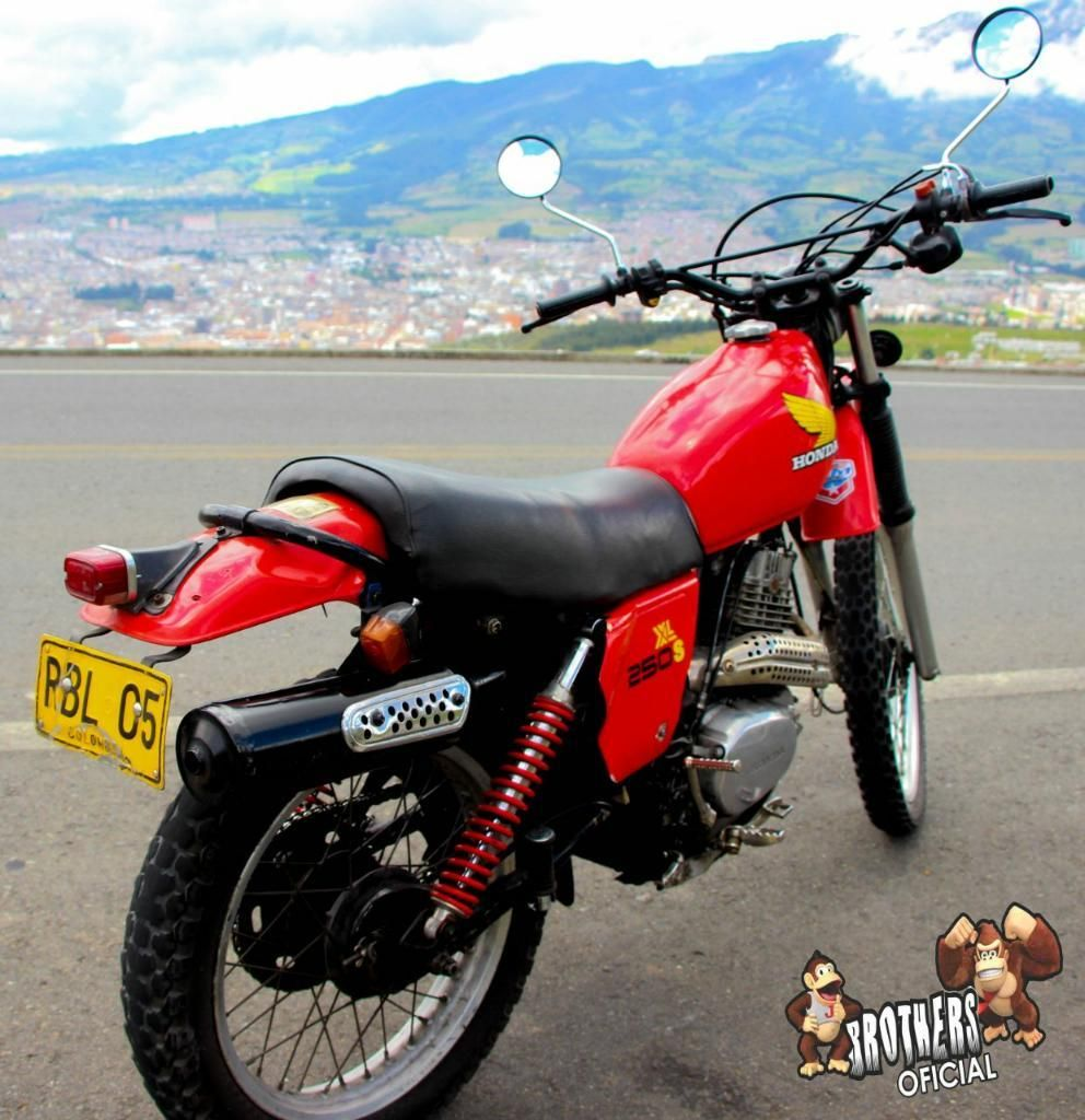 Vendo Honda Xl250 S en Buen Estado