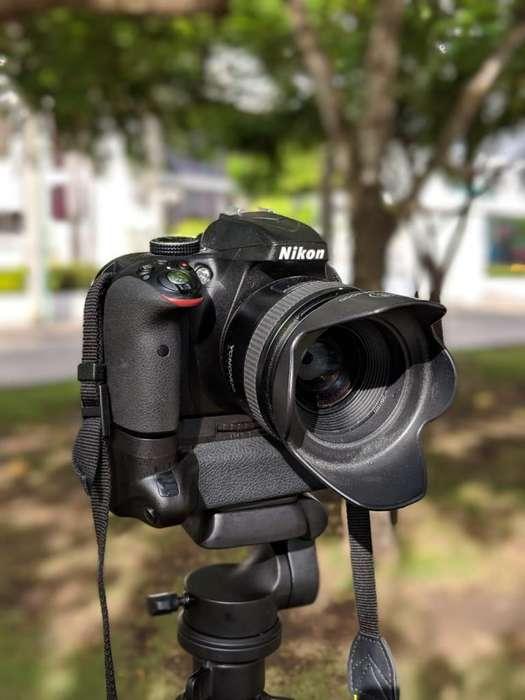 Nikon D3300 Lente Yongnuo 35mm Para Nikon