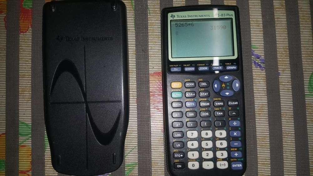 <strong>calculadora</strong> TEXAS INSTRUMENTS TI83 PLUS