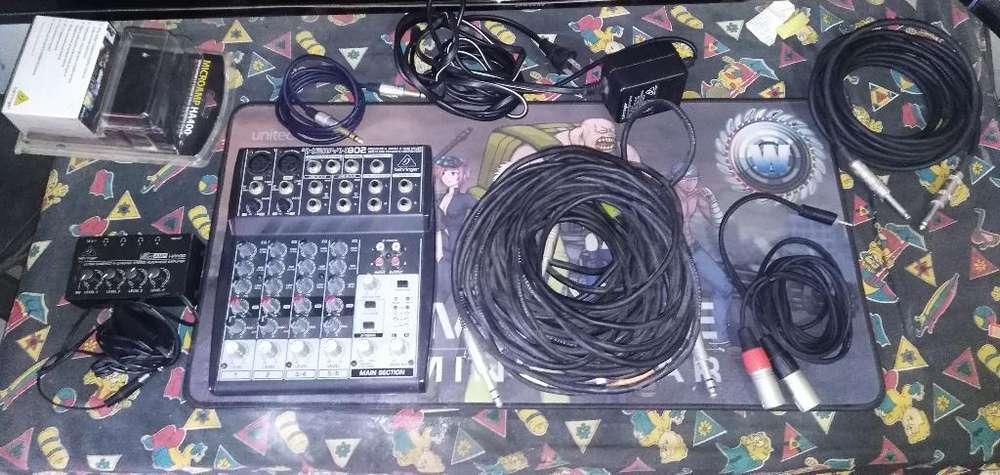 Mixer Pre Audifonos ( Secuencias)