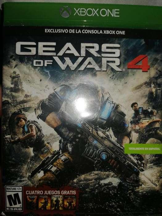 Vendo Juego Xbox One Gears Of War 4