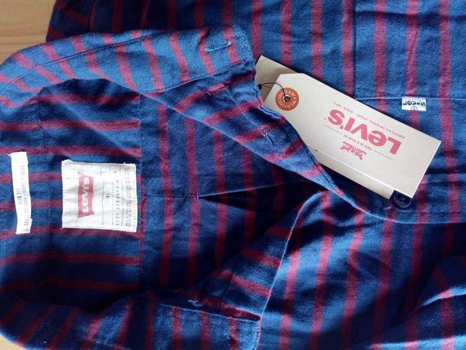 Camisa <strong>levis</strong> Nueva Talle Xl