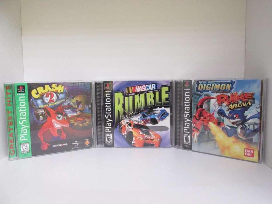 Juegos Originales Y Completos Ps1