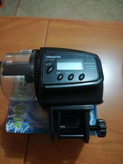 Alimentador Automático Lcd Para Acuario