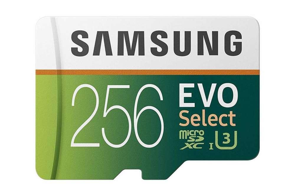 Memoria Microsd 256gb Samsung C10 U3 4k 100mb/s Disponible