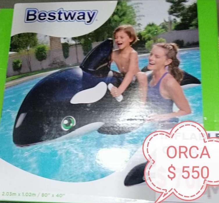 INFLABLE PARA PILETAS ORCA