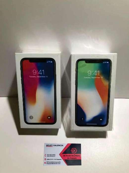 iPhone X de 256 GB NUEVO SELLADO