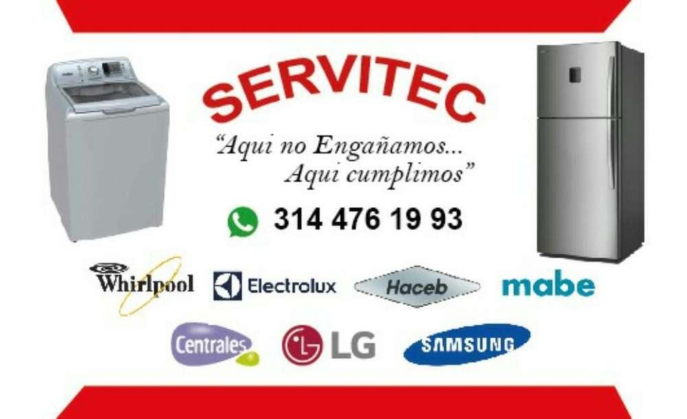 Servicio Técnico Lavadoras Y Neveras