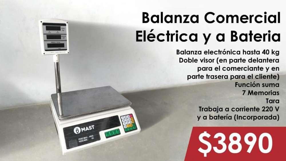 BALANZA COMERCIAL ELECTRICA Y A BATERIA