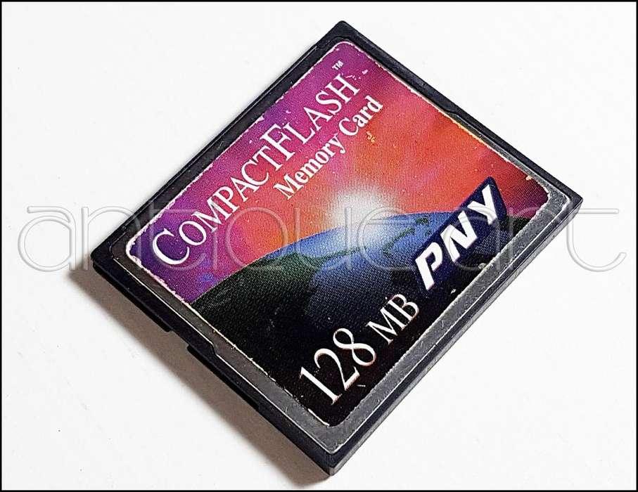 A64 Tarjeta Cf Memoria 128mb Compact Flash Foto Video