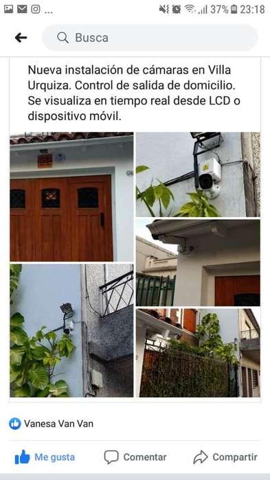 Instalación de Alarma Cámara Y Cerco