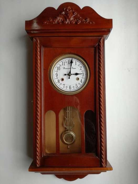 Relojes En Madera Con Péndulo para Pared Con Sonería